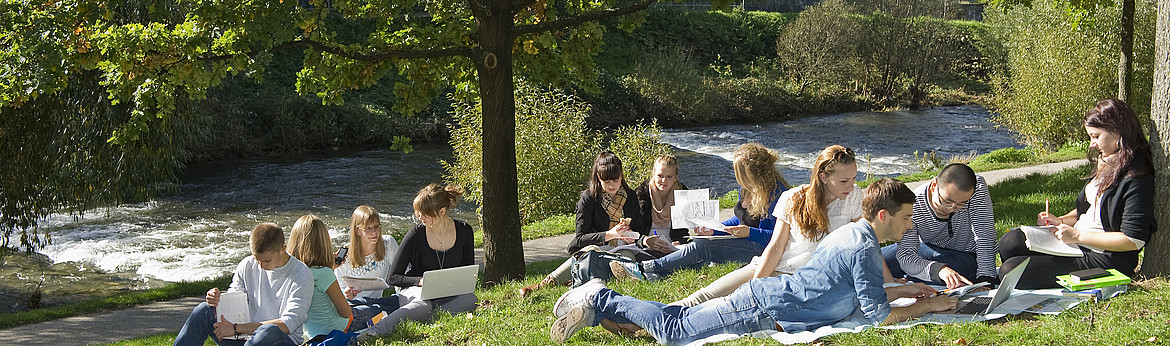 Students in Freiburg