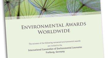 Cover Environmental Awards Worldwide
